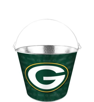 Green Bay Packers Metal Pail Party City