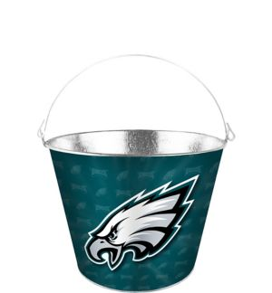Philadelphia Eagles Galvanized Bucket