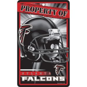 Property of Atlanta Falcons Sign