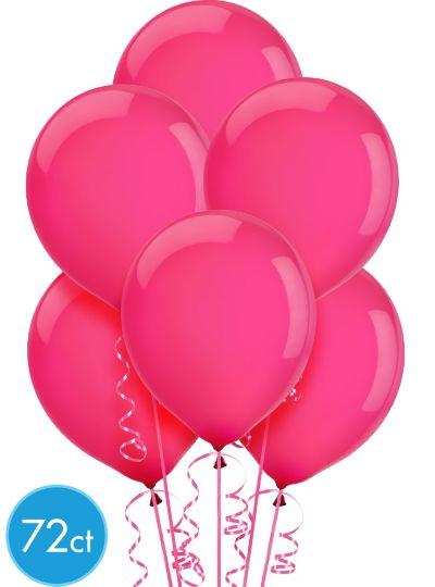 Magenta Balloons 72ct