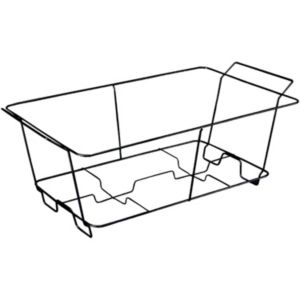 Black Wire Chafing Dish Rack