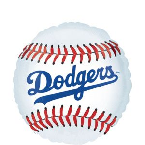 Los Angeles Dodgers Balloon - Baseball