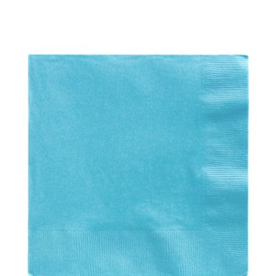Caribbean Blue Lunch Napkins 125ct