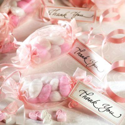Pink Wrapper Favor Kit 12ct