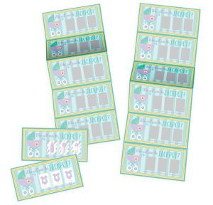 Baby Shower Scratch-Off Cards 12ct