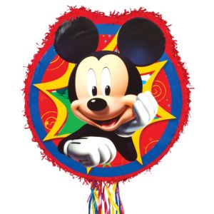 Pull String Mickey Mouse Pinata