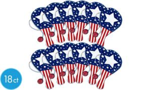 Patriotic Paddleballs 18ct