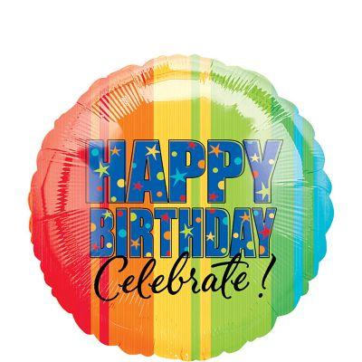 Happy Birthday Balloon - A Year to Celebrate