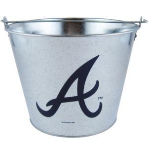 Atlanta Braves Galvanized Bucket