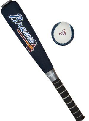 Atlanta Braves Baseball Bat Set 2pc