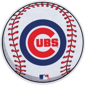 Chicago Cubs Pennant Baseball 14in