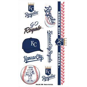 Kansas City Royals Tattoos 1 Sheet