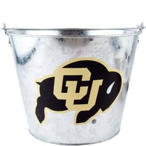 Colorado Buffaloes Metal Pail