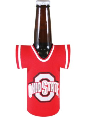 Ohio State Buckeyes Jersey Bottle Coozie
