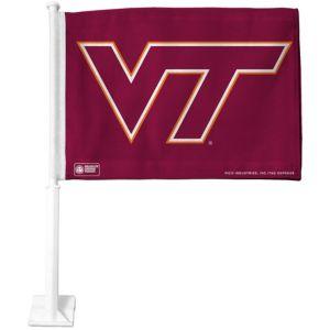 Virginia Tech Hokies Car Flag