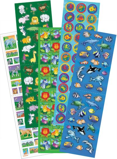 Animal Sticker Value Pack 5 Sheets