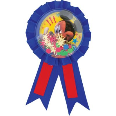 Mickey Mouse Award Ribbon 5in
