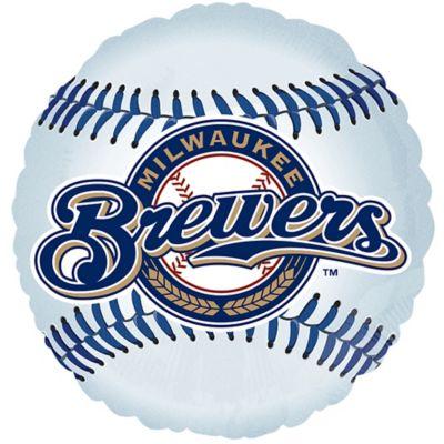 Milwaukee Brewers Balloon - Baseball
