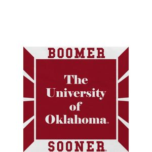 Oklahoma Sooners Beverage Napkins 16ct