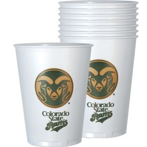 Colorado State Rams Plastic Cups 8ct