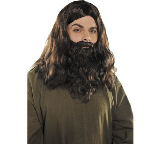 Hippie Wig and Beard