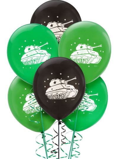 Camouflage Balloons 6ct