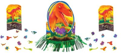 Prehistoric Dinosaurs Centerpiece Kit 27pc