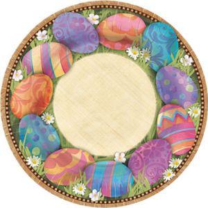 Easter Elegance Dessert Plates 8ct