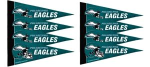 Philadelphia Eagles Pennants 8ct