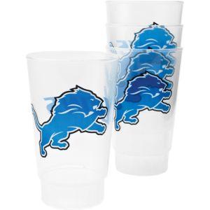 Detroit Lions Tumblers 4ct