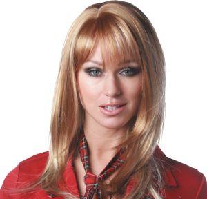 Angel Premium Shoulder-Length Honey Light Blonde Wig
