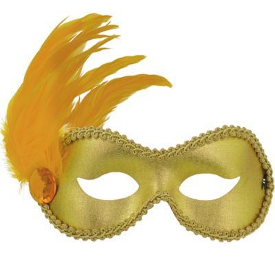 Gold Ballroom Masquerade Mask