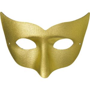 Gold Champagne Masquerade Mask