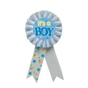 It's a Boy Award Ribbon