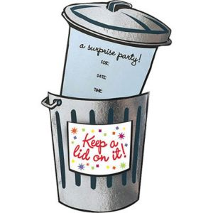 Keep a Lid on it Jumbo Invitations 8ct