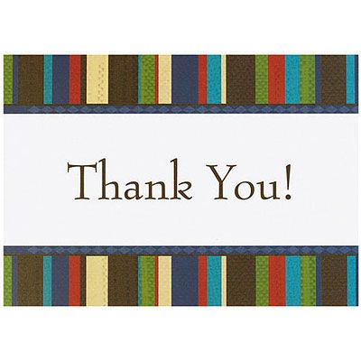 Tailored Thank You Notes 20ct