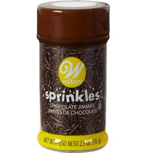 Wilton Chocolate Jimmies Sprinkles