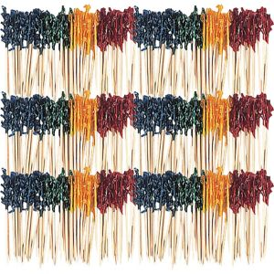 Multicolor Frill Party Picks 800ct
