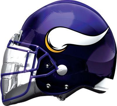 Minnesota Vikings Balloon - Helmet