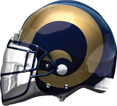 St. Louis Rams Balloon - Helmet
