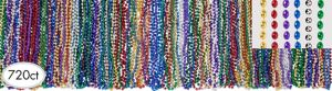 Multicolor Bead Necklaces 720ct