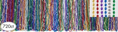 Assorted Mardi Gras Bead Necklaces 720ct