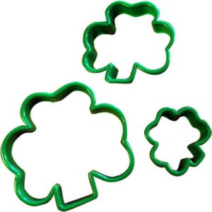 Shamrock Cookie Cutters 3ct