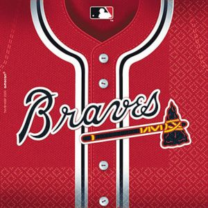 Atlanta Braves Lunch Napkins 36ct