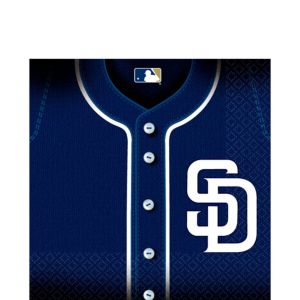 San Diego Padres Lunch Napkins 36ct