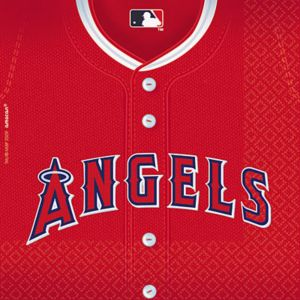 Los Angeles Angels Lunch Napkins 36ct