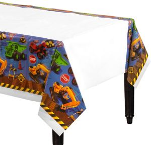 Under Construction Table Cover