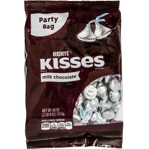 Milk Chocolate Hershey's Kisses 250ct