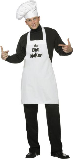 Adult Bun Maker Costume