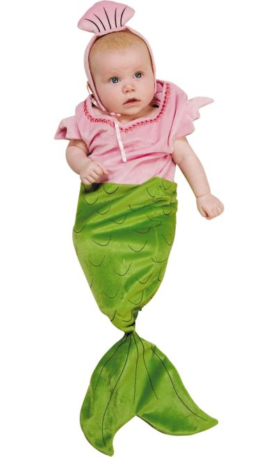 Baby Bunting Mermaid Costume
